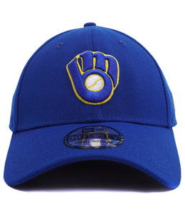 NEW ERA BREWERS TEAM CLASSIC 39THIRTY STRETCH FIT HAT
