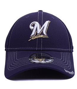 NEW ERA BREWERS NEO 39THIRTY STRETCH FIT HAT