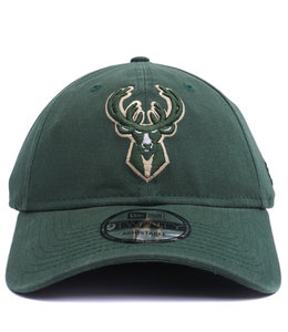 NEW ERA BUCKS CORE CLASSIC 9TWENTY ADJUSTABLE HAT