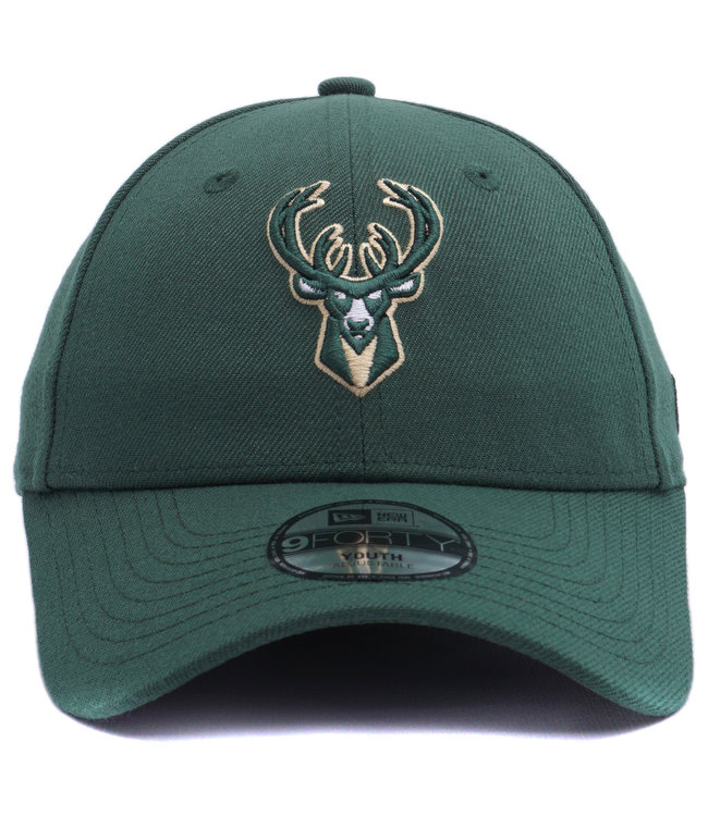 NEW ERA Bucks Kids League 9Forty Adjustable Hat