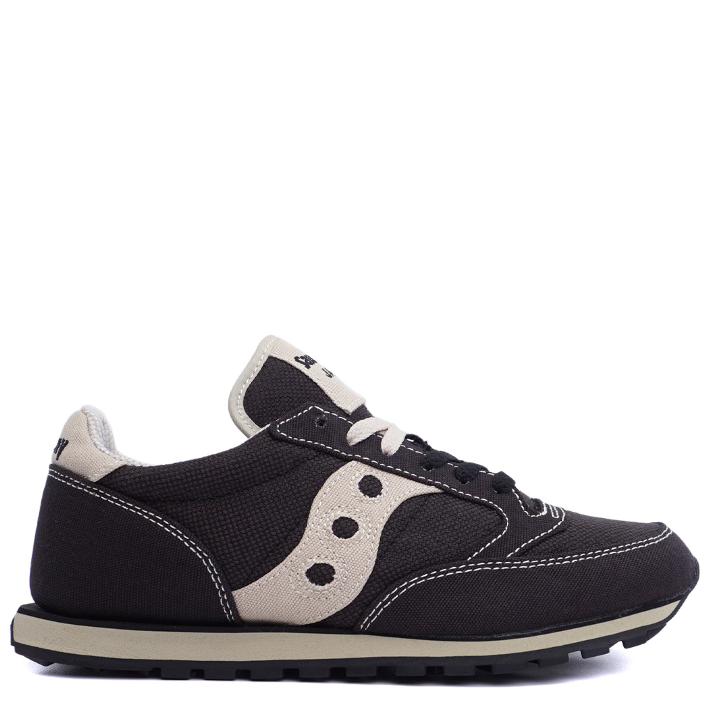 check out 4fbff 7e762 Saucony Jazz Low Pro Vegan Shoes - Black/Oatmeal | 2887-4