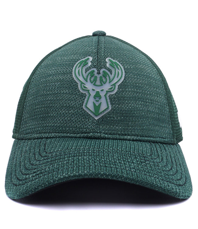 056a68c09dd New Era Milwaukee Bucks 39Thirty Stretch Fit Hat - Green - MODA3