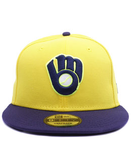 NEW ERA BREWERS PLAYERS WEEKEND 9FIFTY SNAPBACK