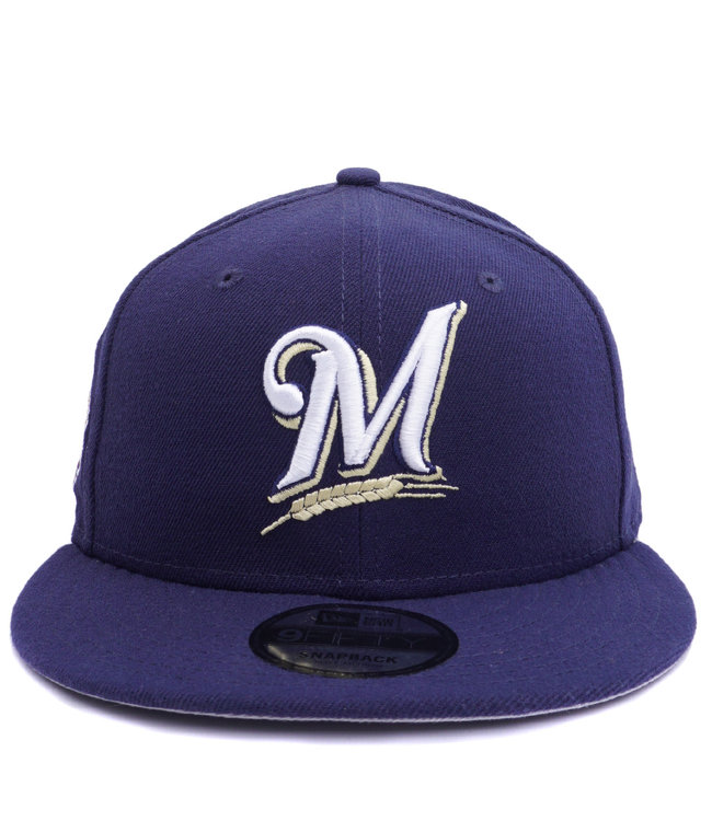 NEW ERA Brewers Baycik 9Fifty Snapback Hat