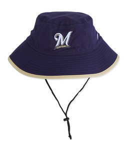 NEW ERA BREWERS KIDS CLUBHOUSE BUCKET HAT