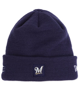NEW ERA BREWERS ON FIELD SPORT KNIT BEANIE