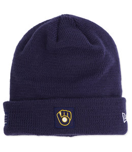 NEW ERA BREWERS ALTERNATE SPORT KNIT BEANIE