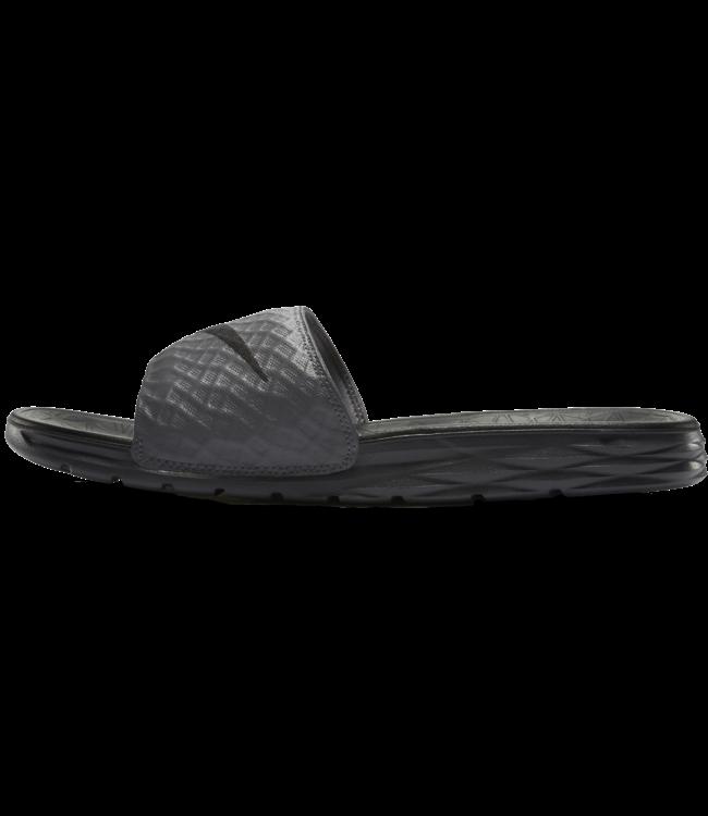092681adb568 Nike Benassi Solarsoft 2 Slide Sandal - Dark Grey Black