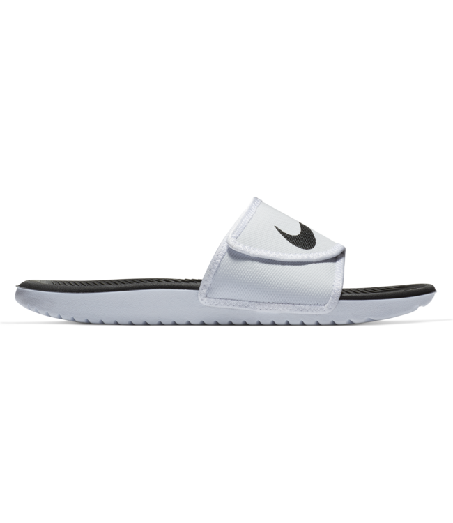 2319055ce Nike Kawa Adjustable Slide Sandal - White Black