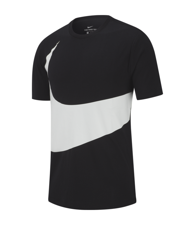 9adf3d9d Nike Swoosh T-Shirt - Black/White | AR5191-010 - MODA3