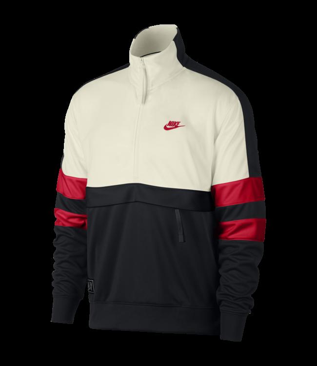 a78b0688 Nike Air Track Jacket - Sail/Black-University Red | AR1839-134 - MODA3