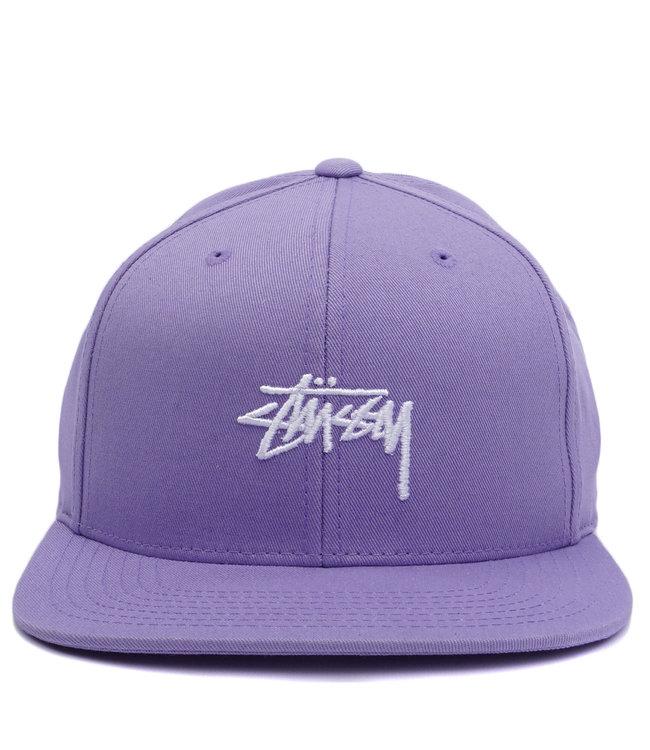 5e161442838 Stussy Stock Snapback Hat - Lavender