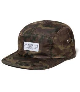 THE QUIET LIFE CAMO 5 PANEL CAMPER HAT