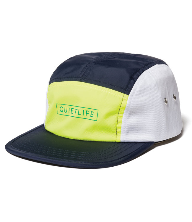 dc5bc8f733d The Quiet Life Ranier 5 Panel Camper Hat - Navy Yellow White - MODA3