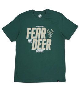 '47 BRAND BUCKS 2019 PLAYOFFS FEAR THE DEER TEE