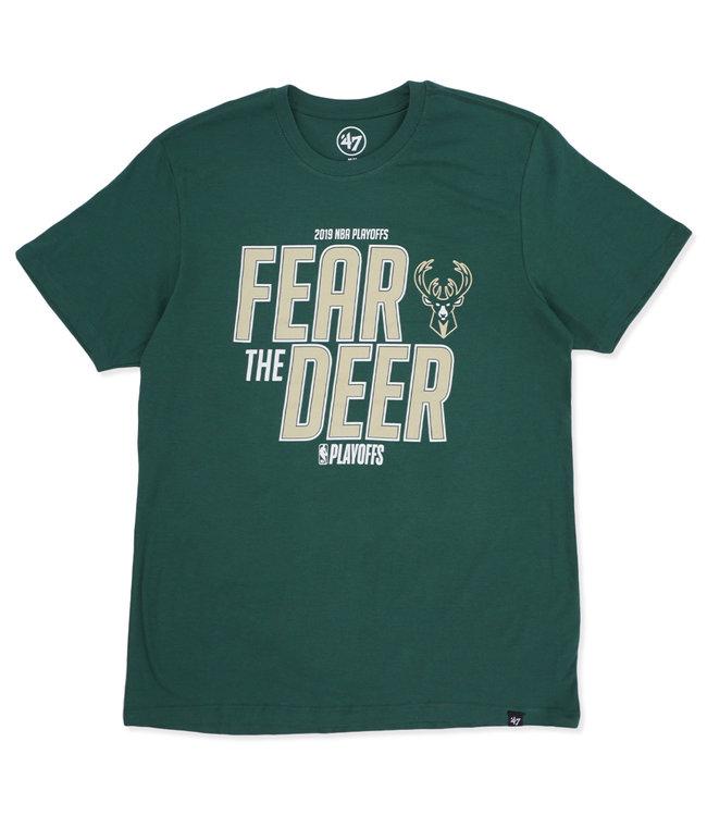 '47 BRAND Bucks 2019 Playoffs Fear the Deer Tee