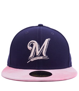 NEW ERA BREWERS MOTHER'S DAY 59FIFTY FITTED HAT
