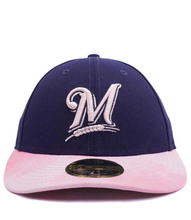 half off 65aaf 45751 NEW ERA Brewers Mother s Day Low Profile 59Fifty Fitted Hat