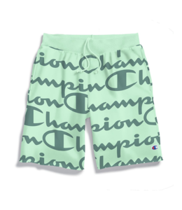 CHAMPION REVERSE WEAVE ALL-OVER PRINT CUT-OFF SHORT