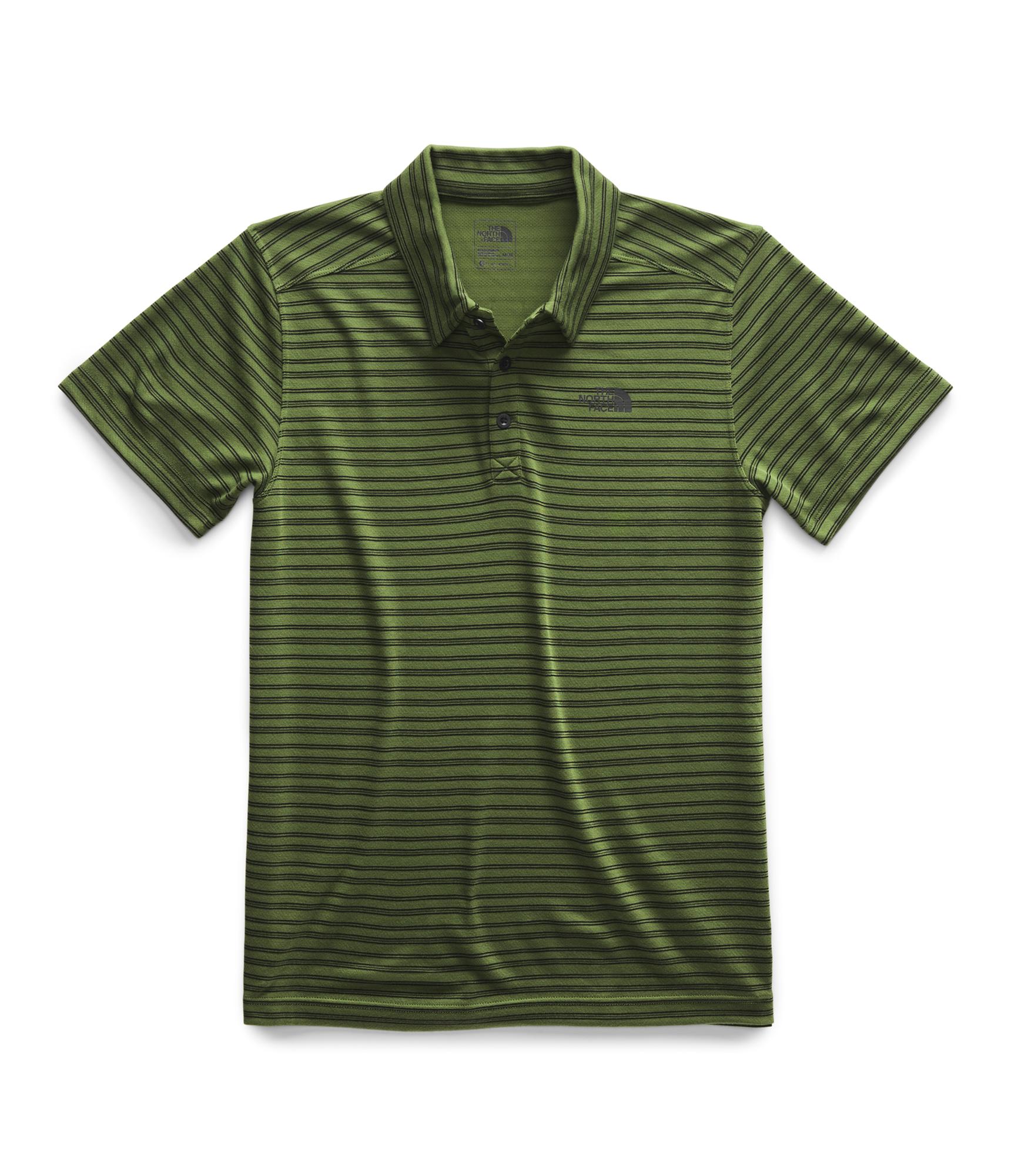 sekcja specjalna buty na codzień znana marka The North Face Crag Polo Shirt - Garden Green Stripe
