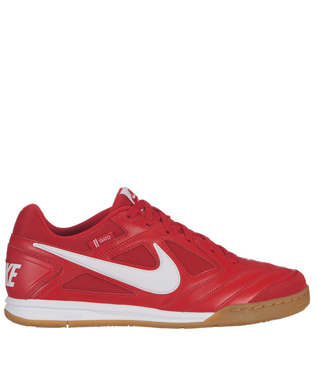 8a82e5c7bb Nike SB Gato Shoes - University Red White-Gum Light Brown - MODA3