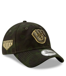 NEW ERA BREWERS ARMED FORCES DAY 9TWENTY HAT