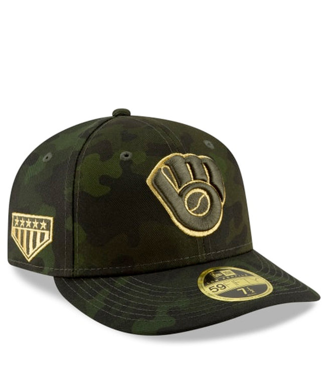 NEW ERA Brewers Armed Forces Day Low Profile Fitted Hat
