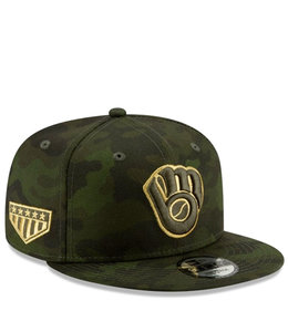 NEW ERA BREWERS ARMED FORCES DAY 9FIFTY SNAPBACK
