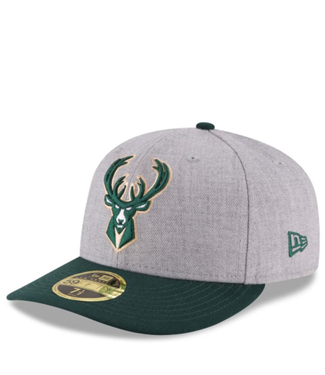 NEW ERA Bucks Heather Low Profile Fitted Hat