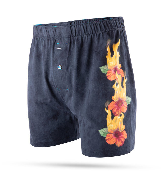 STANCE Flames Floral Boxer