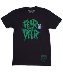 MITCHELL AND NESS BUCKS FEAR THE DEER TEE