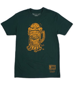 MITCHELL AND NESS BUCKS MILWAUKEE BREW TEE
