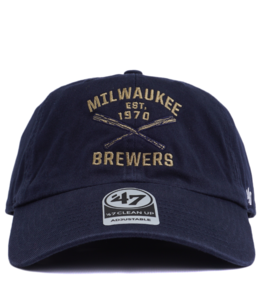 '47 BRAND BREWERS AXIS CLEAN UP HAT