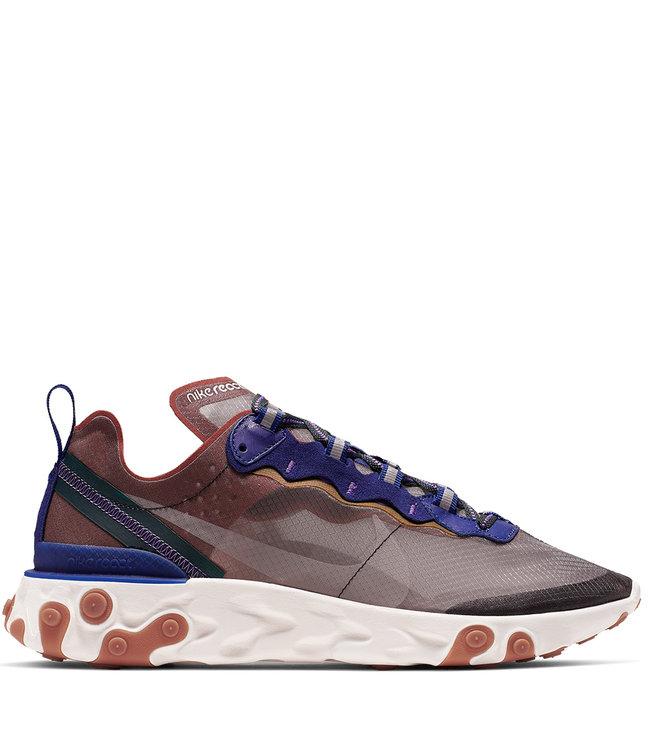 5f040bfdd0ad Nike React Element 87 Shoes - Dusty Peach Deep Royal Blue Lucid ...