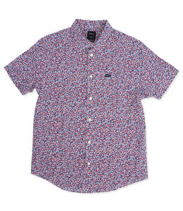 RVCA REVIVALIST FLORAL BUTTON-UP SHIRT