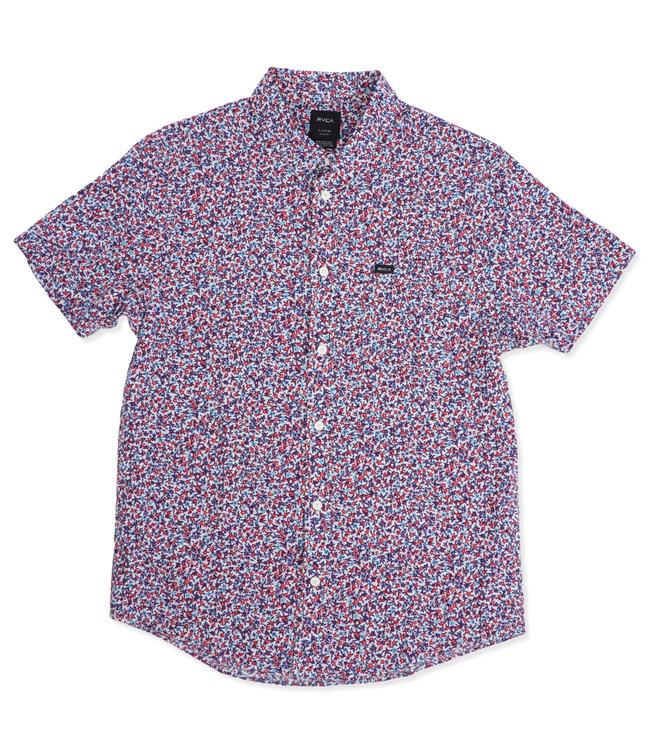 RVCA Revivalist Floral Button-Up Shirt