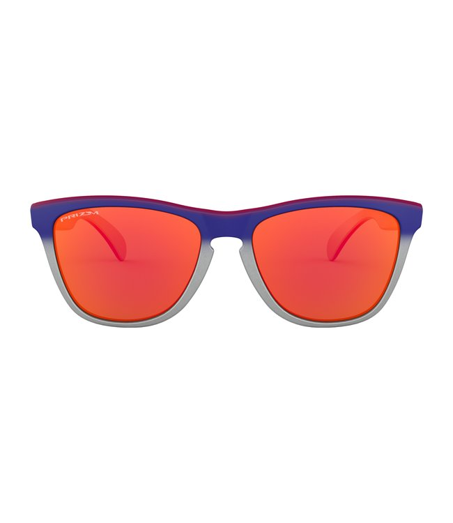 7b189f1b41 Oakley Frogskins Sunglasses - Black/Pink-Prizm Ruby - MODA3