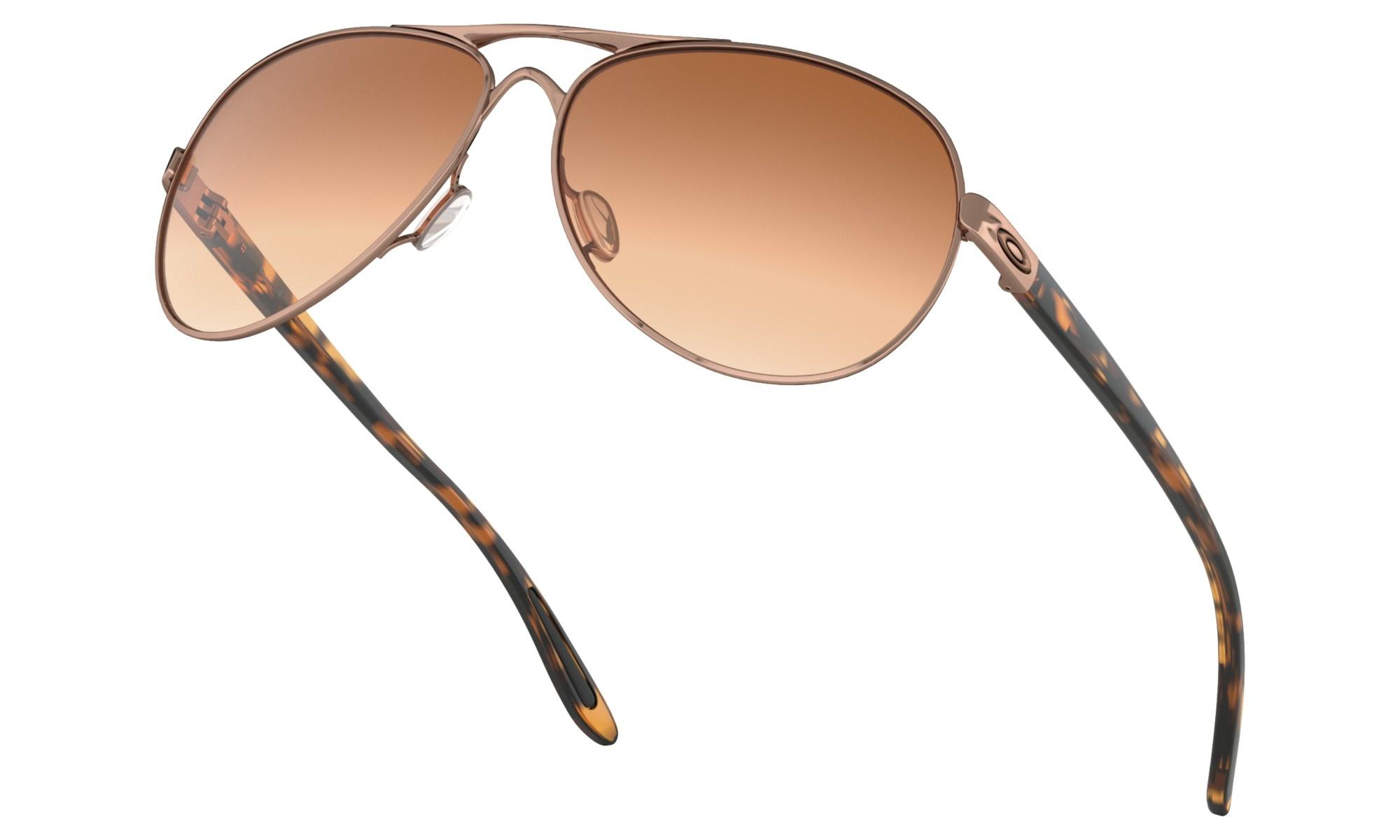 6c86b7569b Oakley Feedback Sunglasses - Rose Gold Vr50 Brown Gradient - MODA3