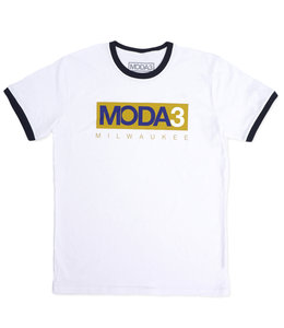 MODA3 BOX LOGO RINGER TEE