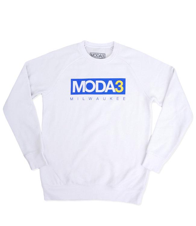 MODA3 Box Logo Crew Sweatshirt