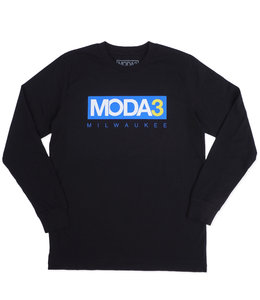 MODA3 BOX LOGO LONG SLEEVE TEE