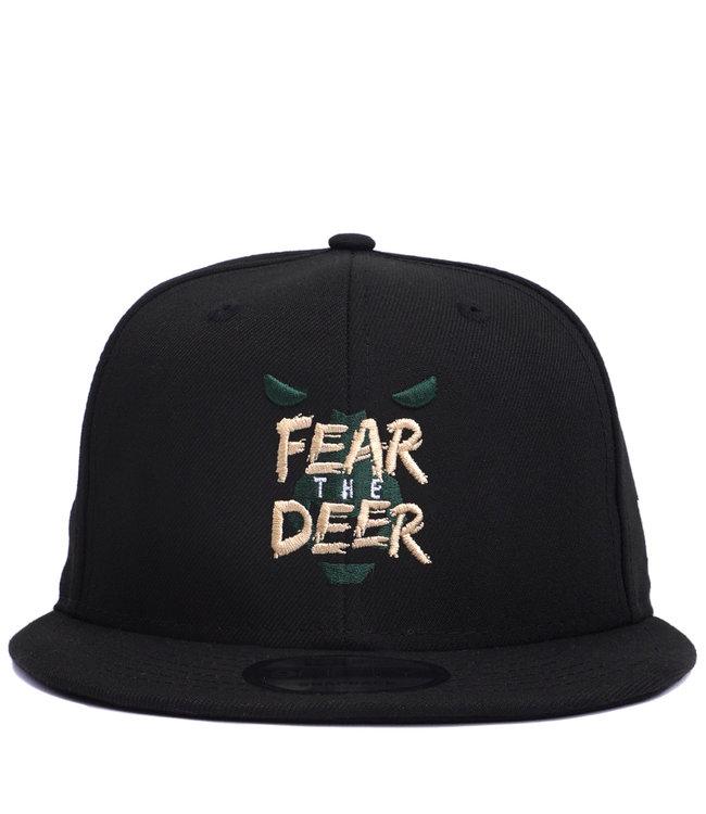 NEW ERA Bucks Fear The Deer 9Fifty Snapback Hat