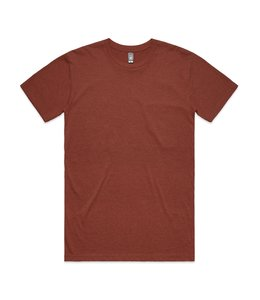 ASCOLOUR STAPLE HEATHER TEE
