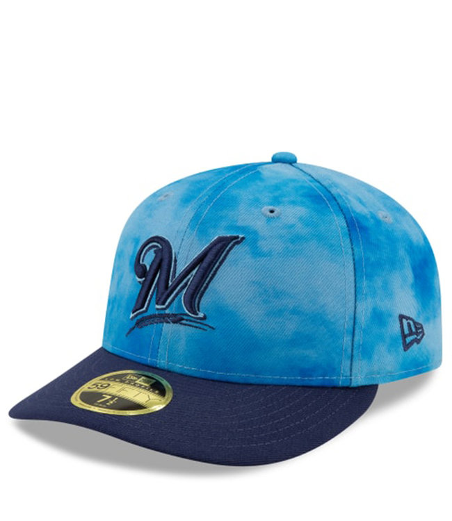 NEW ERA Brewers Father's Day Low Profile 59Fifty Hat