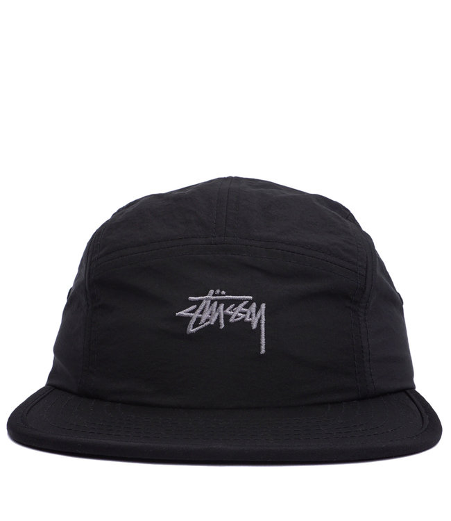 12171fb0 Stussy Basic Stock Camp Cap - Black - MODA3