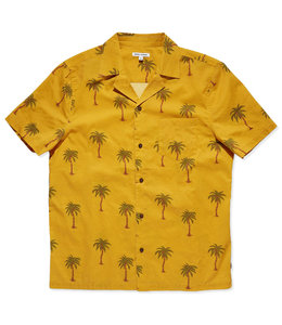 BANKS JOURNAL PALM DREAMS WOVEN SHIRT