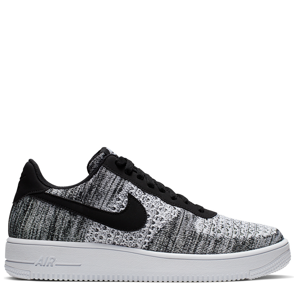 info for ce671 1d7c9 Nike Air Force 1 Flyknit 2.0 Shoes - Black/Black/White/Pure Platinum