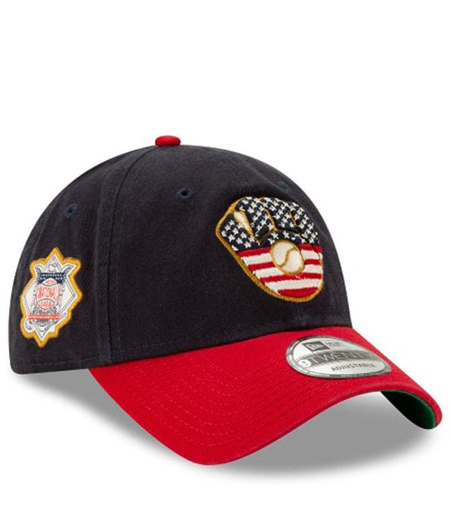 NEW ERA Brewers Independence Day 9Twenty Hat