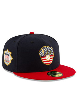 NEW ERA BREWERS INDEPENDENCE DAY 59FIFTY FITTED