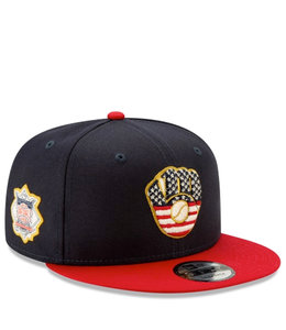 NEW ERA BREWERS INDEPENDENCE DAY 9FIFTY SNAPBACK